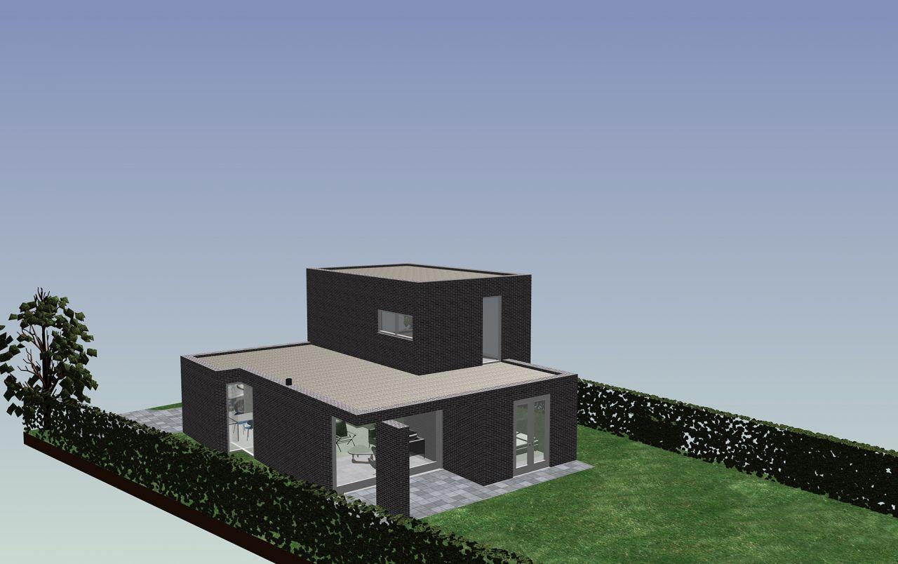 Engelman architecten woonhuis asenray engels for Bouwkosten huis